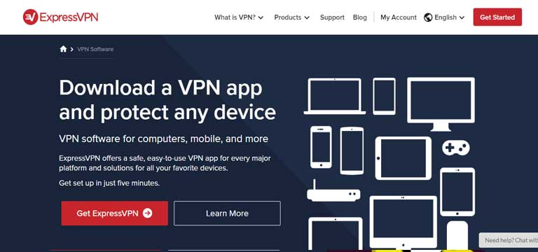 ExpressVPN for mobiles and smart devices